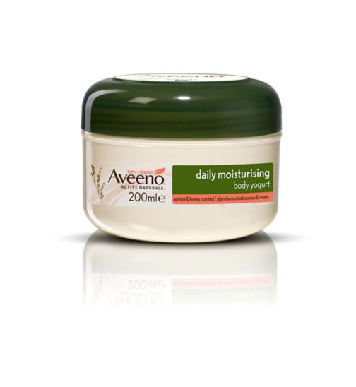 AVEENO® Daily Moisturising Body Yogurt- Apricot & Honey scented
