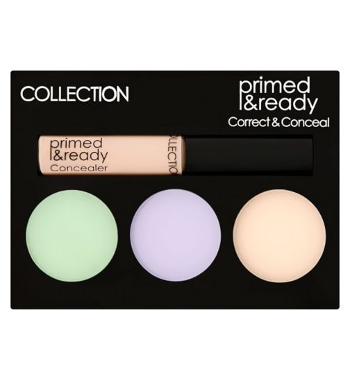 Collection Primed & Ready Correct & Conceal Palette