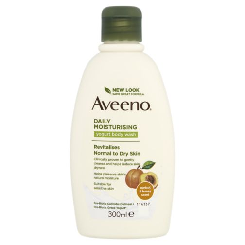 AVEENO® Daily Moisturising Yogurt Body Wash– Apricot & Honey scented