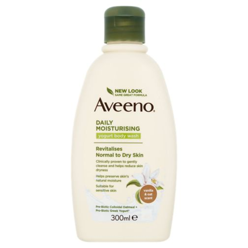 AVEENO® Daily Moisturising Yogurt Body Wash– Vanilla & Oat scented