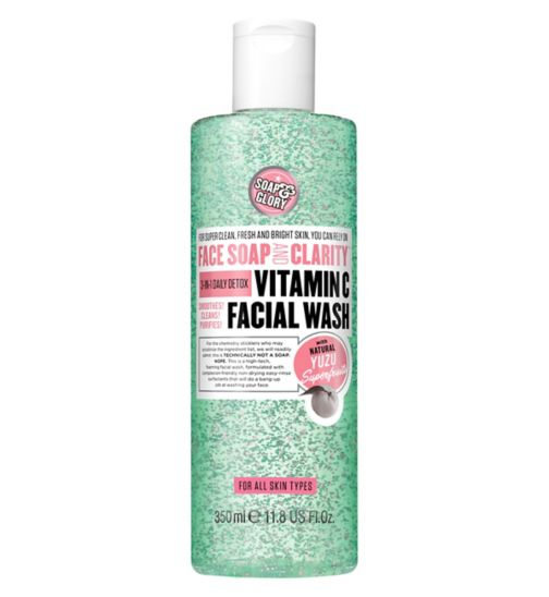 Soap & Glory™ Face Soap & Clarity™ 3-in-1 Daily Vitamin C Facial Wash 350ml