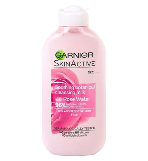 Garnier SkinActive Naturals- Rose Milk Cleanser 200ml