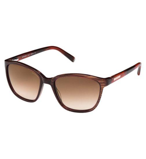 Nicole Fahri NFSUN34 Women's Prescription Sunglasses - Brown