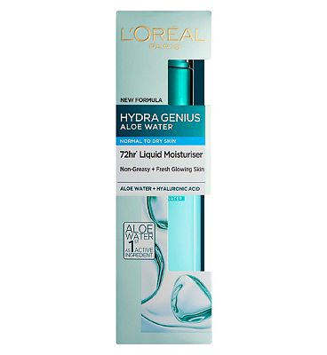 l'oreal paris hydra genius aloe moisturiser normal dry skin 70ml