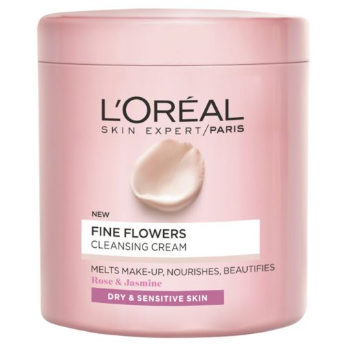 L'Oreal Paris Fine Flowers Cleansing Cream Make-Up Remover 200ml