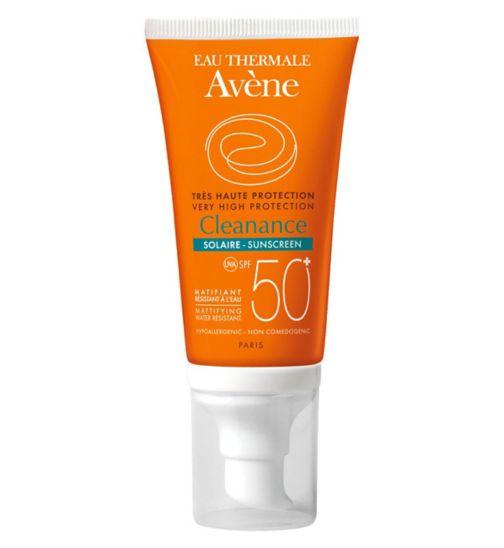 Avene Cleanance Sunscreen SPF50+