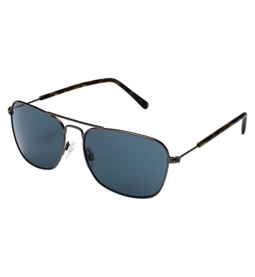 Boots B-SUN1702M Men's Prescription Sunglasses - Gunmetal