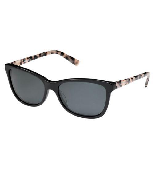 Mango MN40811 Women's Prescription Sunglasses - Black