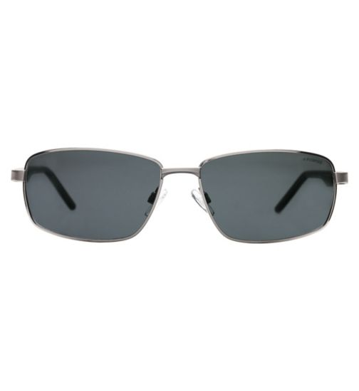 Polraroid PLD2041/S Men's Prescription Sunglasses - Silver
