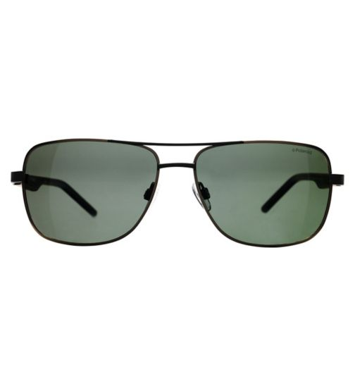Polraroid PLD2042/S Men's Prescription Sunglasses - Gunmetal