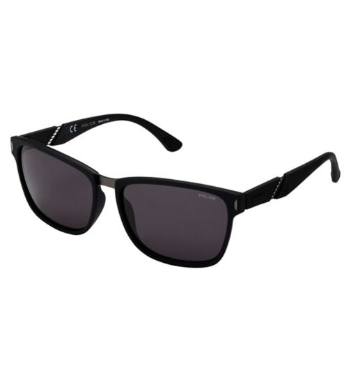 Police SPL350 Men's Prescription Sunglasses - Black