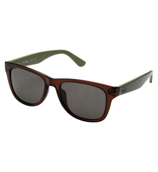Lacoste L734S Men's Prescription Sunglasses - Brown