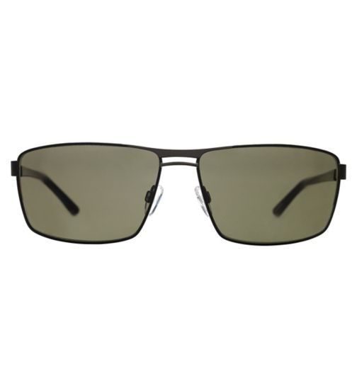 Jaguar 37349 Men's Prescription Sunglasses - Black