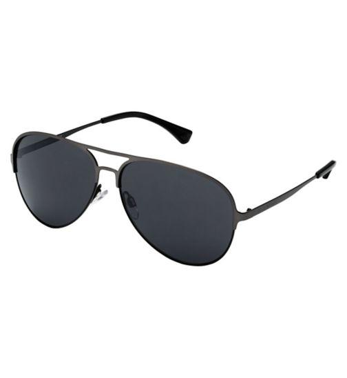Emporio Armani EA2032 Men's Prescription Sunglasses - Gunmetal