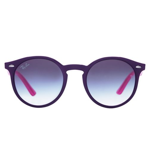 Ray-Ban RJ9064S Kids' Prescription Sunglasses - Purple