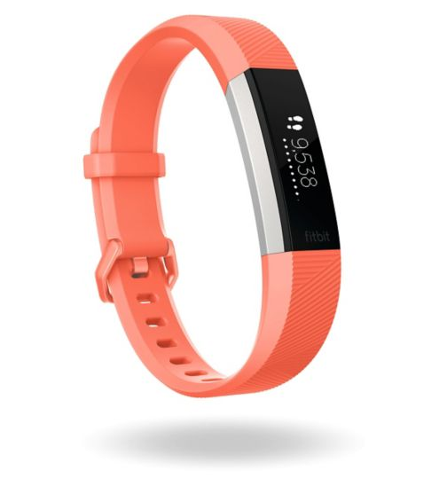 Fitbit Alta HR - Coral (Large)