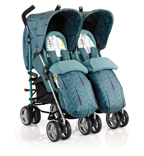 Cosatto To & Fro Double Stroller Ffjord