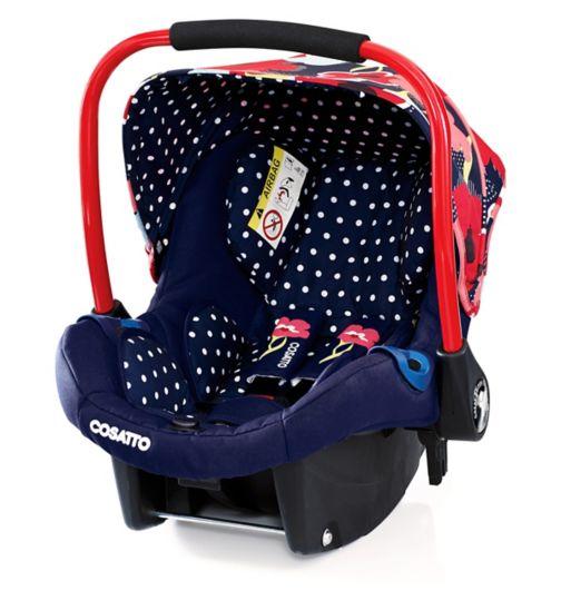 Cosatto Port Group 0+ Car Seat Proper Poppy