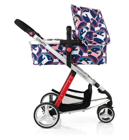 Cosatto Giggle2 Pram & Pushchair Magic Unicorns