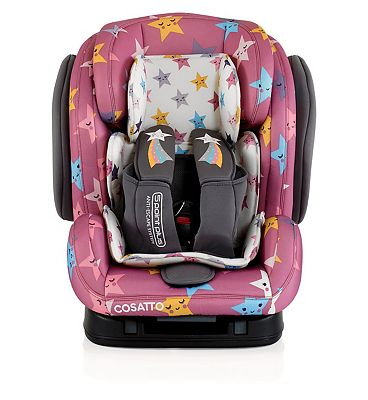 Cosatto Hug Group 123 Isofix Car Seat - Happy Stars