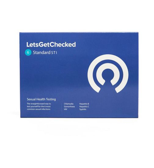 LetsGetChecked Sexual Health Test | Standard 6 STI Test