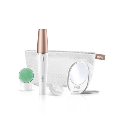 Braun FaceSpa 851V – 3-in-1 Facial epilator/ epilation and cleansing brush system