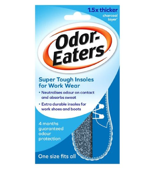 Odor Eaters super tuff insoles