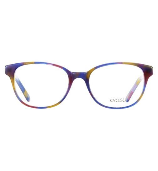Kyusu KKM1701 Kids' Purple Glasses - £20 with NHS voucher