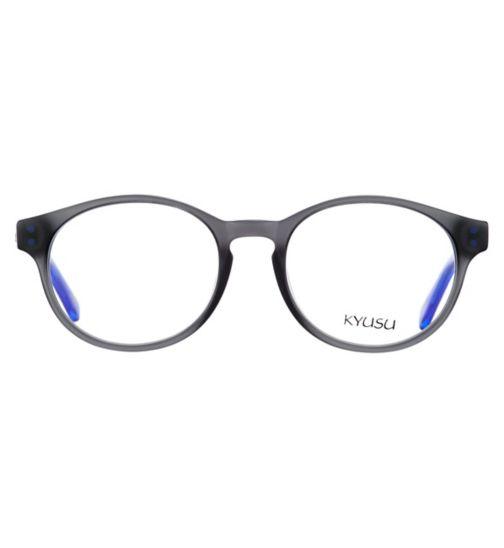 Kyusu KKM1702 Kids' Grey Glasses - £20 with NHS voucher