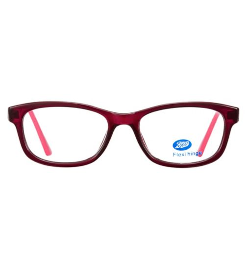 Boots BKM1703 Kids' Red Glasses - Free with NHS voucher