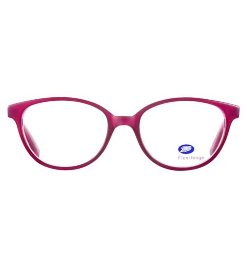 Boots BKM1702 Kids' Pink Glasses - Free with NHS voucher