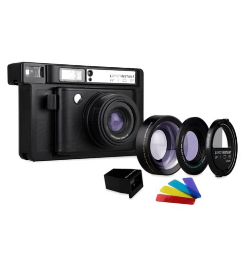 Lomo'Instant Mini Black Combo Camera