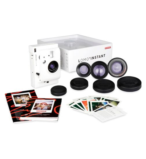 Lomo'Instant Mini White Combo Camera