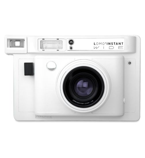 Lomo'Instant wide white combo camera