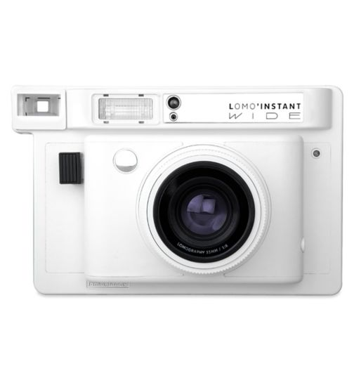 Lomo'Instant wide white camera