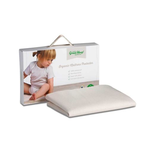 The Little Green Sheep Moses Basket and Pram Waterproof Mattress Protector