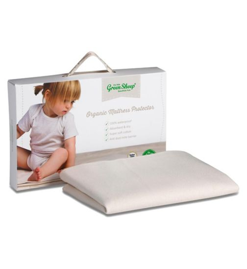 The Little Green Sheep Crib Waterproof Mattress Protector