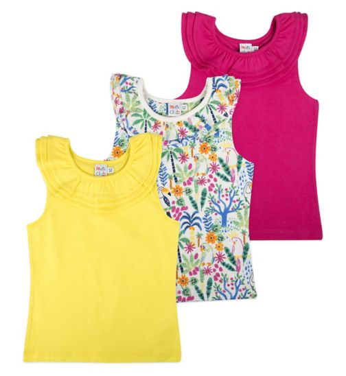 Mini Club Girls 3 Mix & Match 3 pack Top