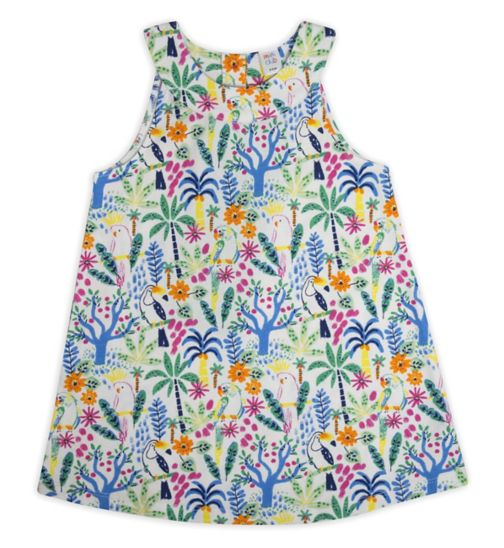 Mini Club Girls Dress Tropical