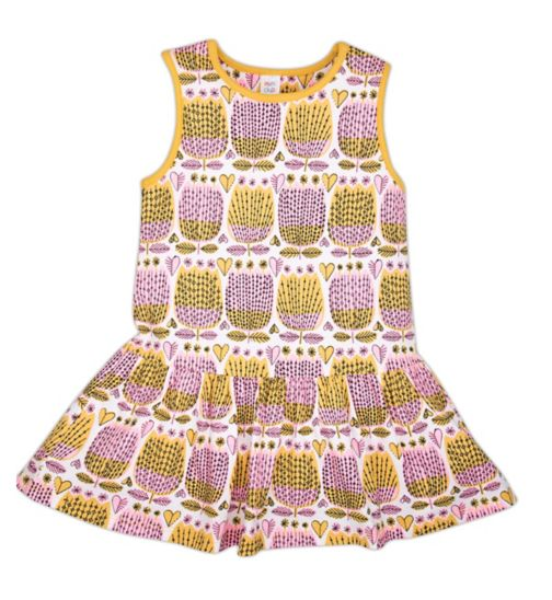 Mini Club Girls Pineapple Dress