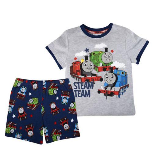 Mini Club Boys Shorts Pyjamas Thomas The Tank Engine