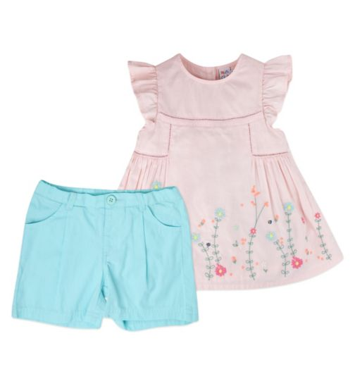 Mini Club Girls Top and Short Set