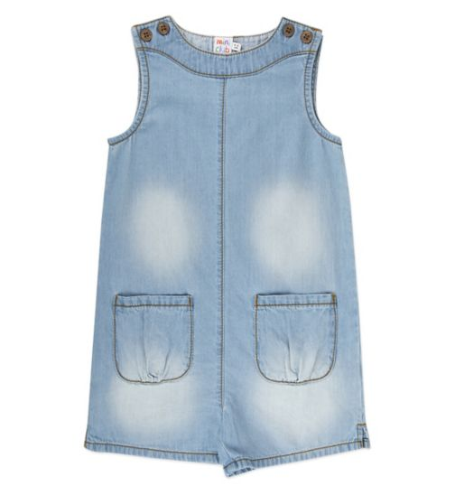 Mini Club Girls Chambray Playsuit