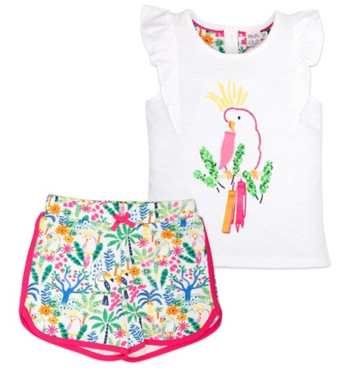 Mini Club Girls  Mix & Match Parrot 2 Piece Set