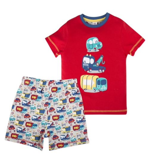 Mini Club Boys Shorts Pyjamas Disney Cars