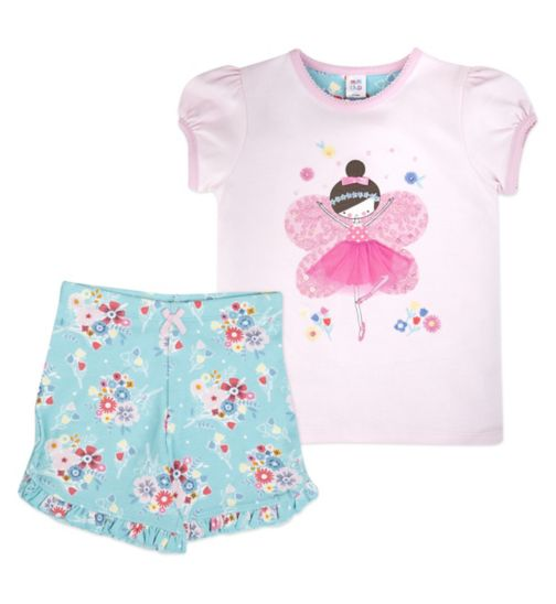 Mini Club Girls Shorts Pyjamas Fairy