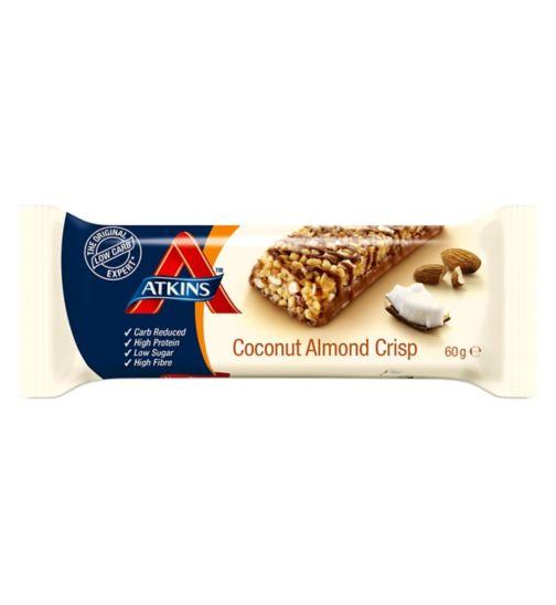 Atkins Coconut Almond Crisp Bar - 60g