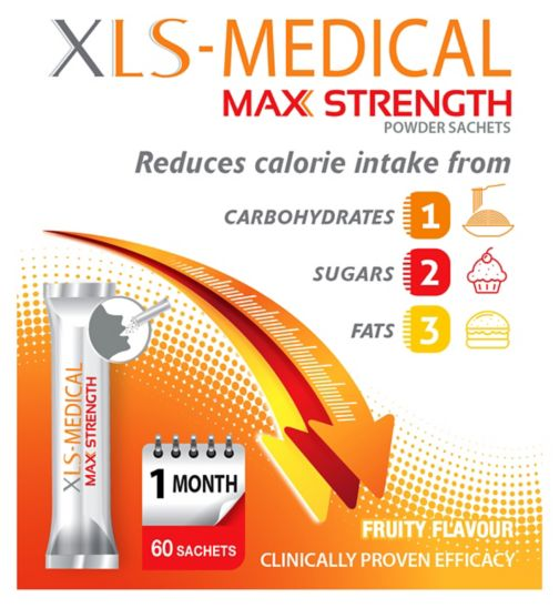 XLS-Medical Max Strength Powder - 60 Sachets