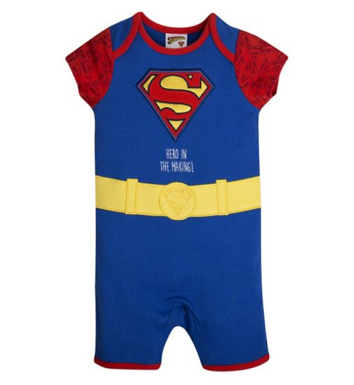Mini Club Baby Boys Romper Superman