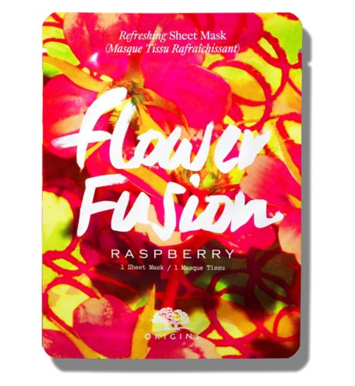 Origins Flower Fusion™ Hydrating Sheet Mask - Raspberry